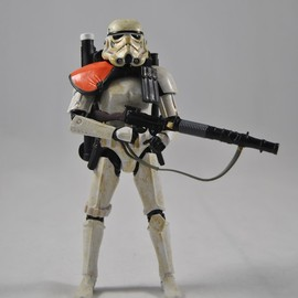 Hasbro - 6inch Black Series Sand trooper