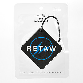 retaW, fragment design - Fragrance Car Tag FRGMT* (black×blue)