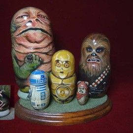 morisaku, Star Wars, Matryoshka Doll - Star Wars Matryoshka Doll