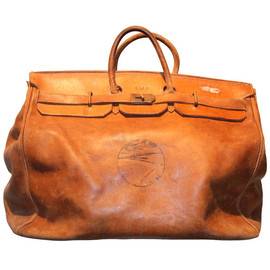 HERMES - antique travel bag