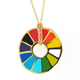yellow owl workshop - Color Wheel Pendant - product images  of