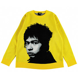 "MEDICOM TOY - KNIT GANG COUNCIL ""INU"" CREW NECK SWEATER ""メシ喰うな !""(再販)"