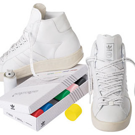 adidas originals - adidas adicolor Hi white series