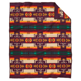PENDLETON - Pendleton Conejos Blanket (Twin) - Reverse Side