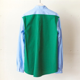 DIGAWEL - GREEN BACK SHIRT