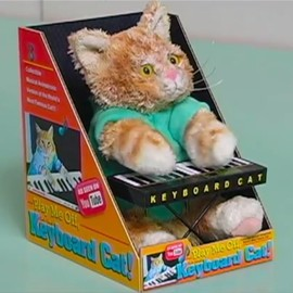 Keyboard Cat - Official Keyboard Cat Toy