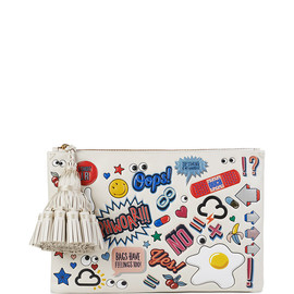 ANYA HINDMARCH - SS2015 Stickered-Up Georgiana