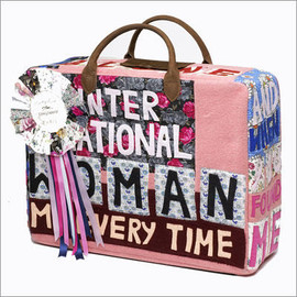 "Longchamp - Tracey Emin ""Intarnational Woman"" bag"