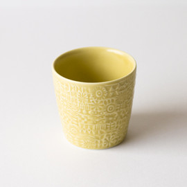 BIRDS' WORDS - PATTERNED CUP