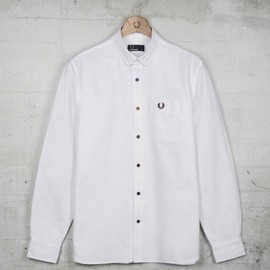 FRED PERRY - Coloured Button Oxford Shirt
