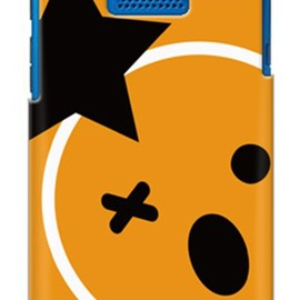 SECOND SKIN - uistore 「Smiley star」 / for DIGNO DUAL 2 WX10K/WILLCOM