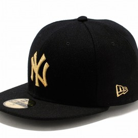 New Era - new era Ny Yank black×gold