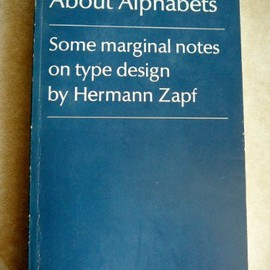 Hermann Zapf - About Alphabets