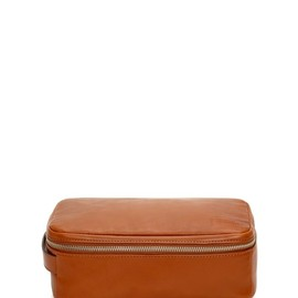 Jack Spade - Mill Leather Zipper Top Dopp