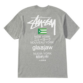 Stussy - Stussy x Glassjaw New York Tour Tee (Grey Heather)