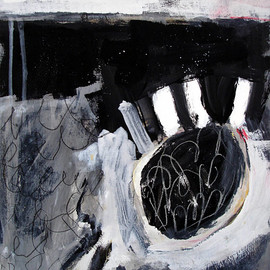 Alison Black - t2, mixed media on canvas