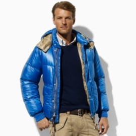 POLO RALPH LAUREN - Peak Down Jacket - Polo Ralph Lauren Nylon & Down - RalphLauren.com