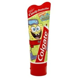 Colgate - Mild Bubble Fruit Flavor, SpongeBob