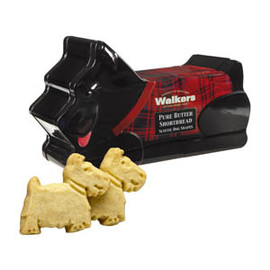 Walkers - Scottie Dog Shaped Shortbread Tin