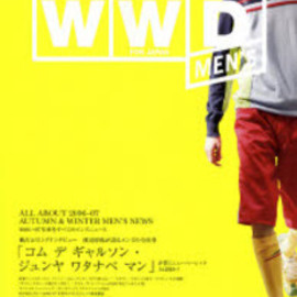 INFAS - WWD for Japan men's ALL ABOUT 2006-07 AUTUMN & WINTER MEN'S NEWS
