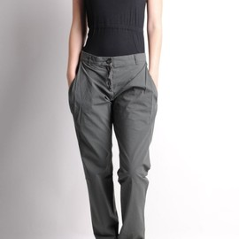 SILENT by DAMIR DOMA - Passaic Pants Olive Grey