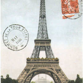 Cavallini & Co - Eiffel Tower Wrapping Paper