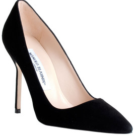Manolo Blahnik - Manolo Blahnik BB Suede Leather pump