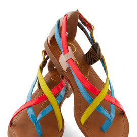 Modcloth - Pleasing to the Island Sandal