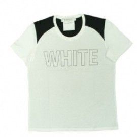 ANREALAGE - WHITE→COLOR TEE