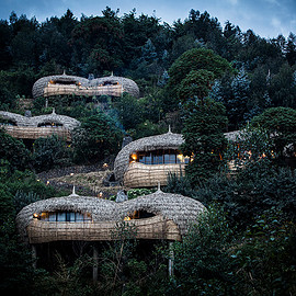 Rwanda - the resort comprises six individual villas