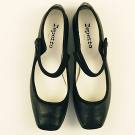 Repetto - repetto square toe mary-jane, black