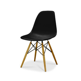 Eames / イームズ Shell Chair Side Chair(DSW)/ブラック