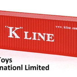 """ACI Toys International - """"K"""" Line Shipping Container 1/150 Scale Replica Model"""
