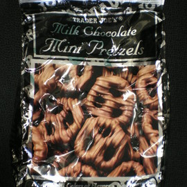 Trader joe's - Milk Chocolate Mini pretzel