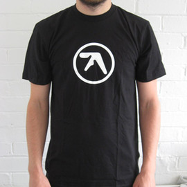 Aphex Twin - Aphex Logo Black T-Shirt