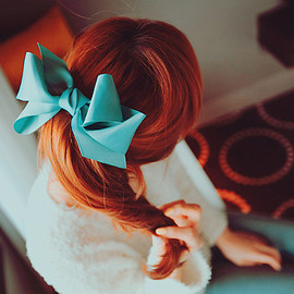 ribbon hair