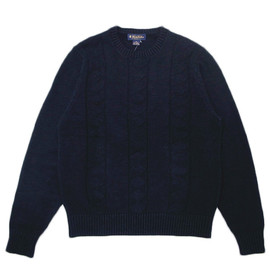 Brooks Brothers - Linen and Cotton Cable Crewneck Sweater