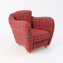 IDEE - MINI MILLER ARM CHAIR HARRIS TWEED LIMITED EDITION