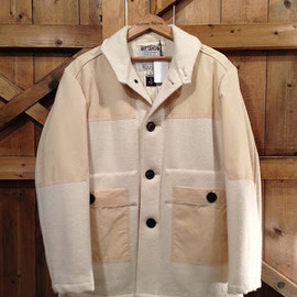 Nigel Cabourn - HENRY R. BOWERS -DECK JACKET-
