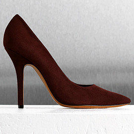 CELINE - Pointed toe pumpues 2012 pre fall