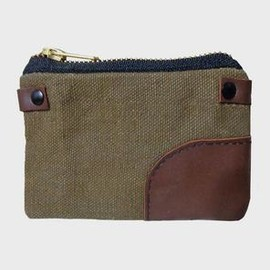 MCLOVEBUDDY - Olive Waxed Canvas Pouch
