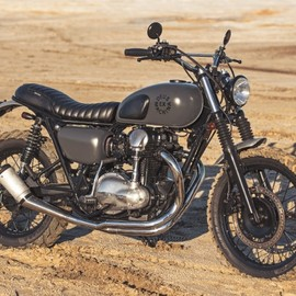 "Deus Ex Machina - ""Hunter Gatherer "" Kawasaki W650"