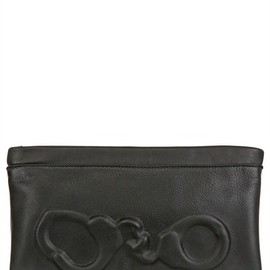 Vlieger&vandam - Leather Clutch Embossed Leather Clutch