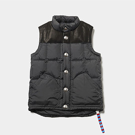 MOUNTAIN RESEARCH - leather vest for mountain rider sp