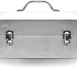 L. MAY MFG SUDBURY - The Original Miners Lunchbox:Classic Polished Aluminum