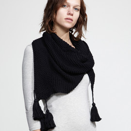 Wool and the Gang - Cotton knit scarf