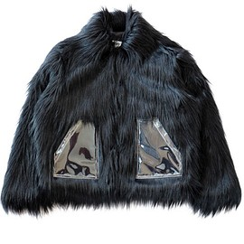 MM6 Maison Margiela - Fake Fur Jacket (black)
