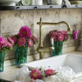 #flowers in the kitchen.