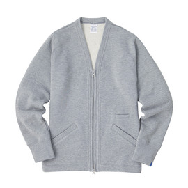 LOOPWHEELER - LW Light Zip Cardigan