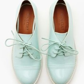 Mint Oxfords